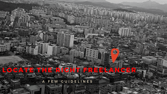 How to find the right freelancer