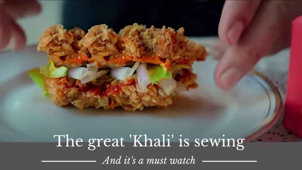 KFC ad with Khali